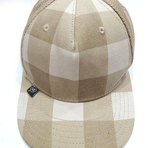 STUSSY HATS Check Plaid Hat
